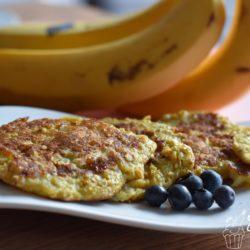 Bananen-Haferflocken-Pfannkuchen