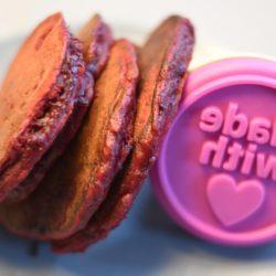 Rote Bete-Pfannkuchen