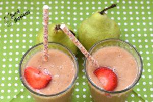 Birnen-Smoothie mit Banane