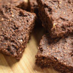 Brownie mit Apfelmark
