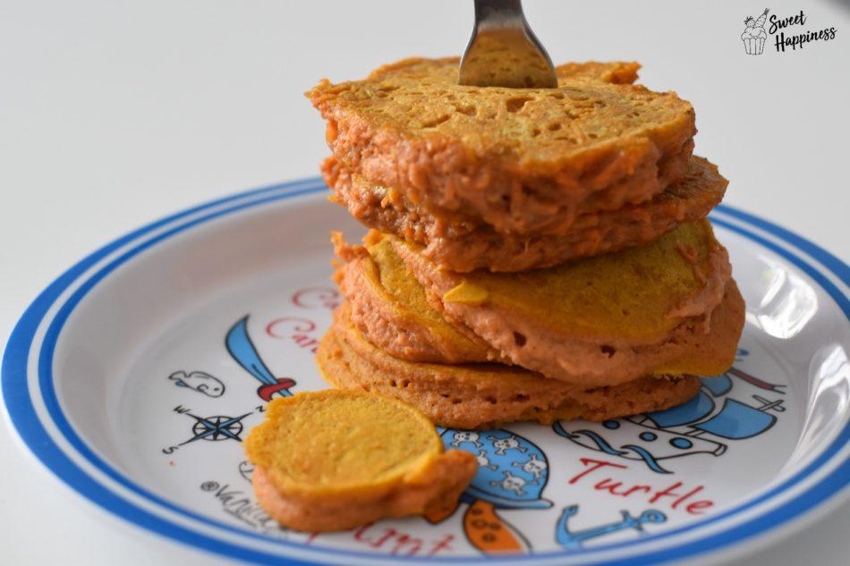 Karotten Pfannkuchen