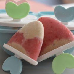 Erdbeer-Erdnuss-Eis