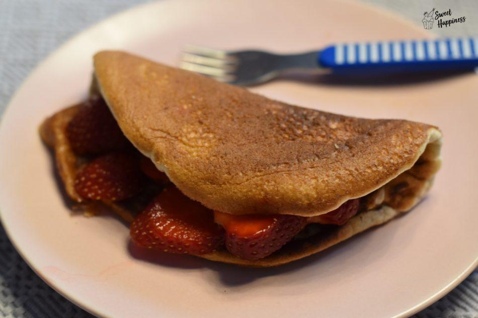 Süßes Omelette